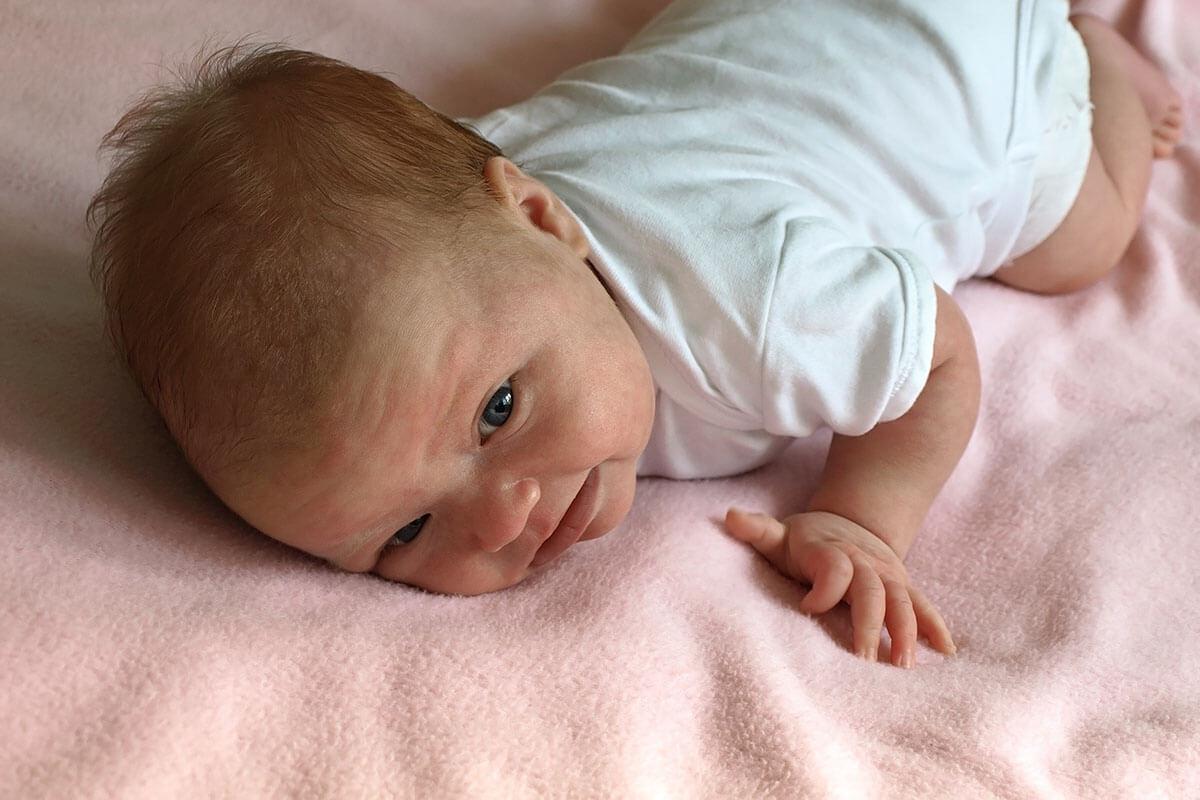 Baby 1 maand