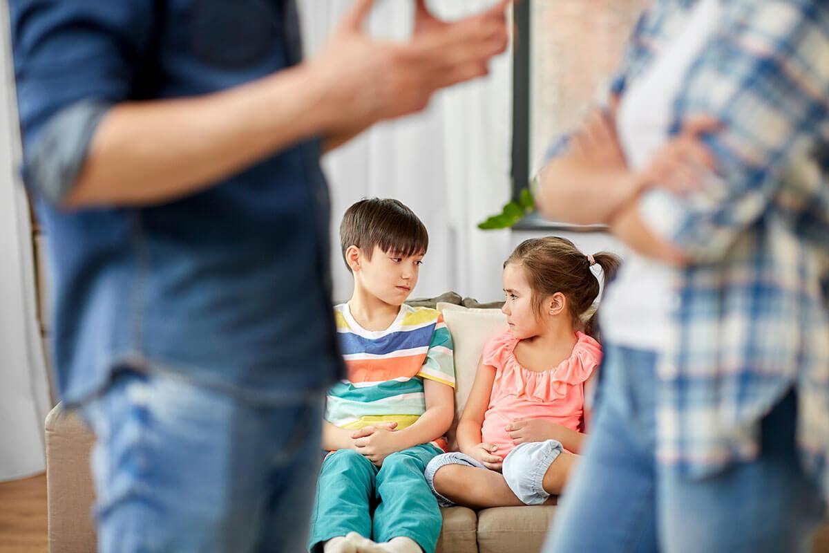 ouders ruzie maken kinderen